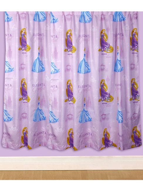 Keuken Gordijnen Kant En Klaar : Disney Princess Curtains