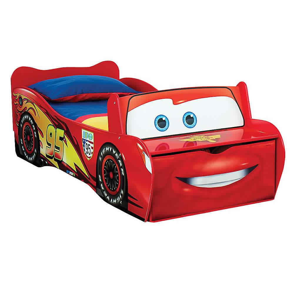 Cars Peuterbed Met Matras.Disney Cars Kinderbed Disney Cars Bed Pixar Cars