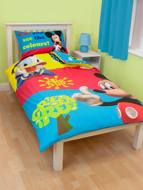 Uitzonderlijk Mickey Mouse Rood Dekbedovertrek | Dekbed Overtrek Mickey Mouse QJ71