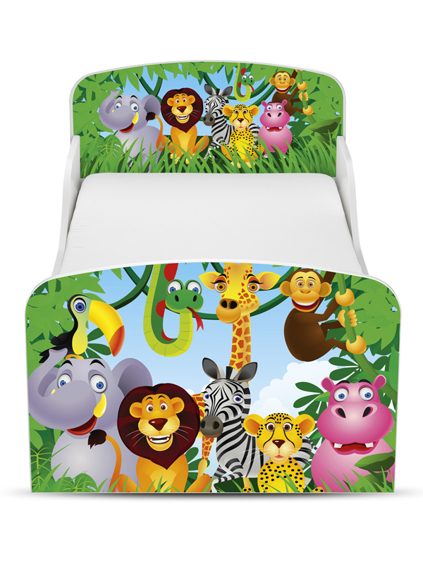 jungle peuterbed 2 wit