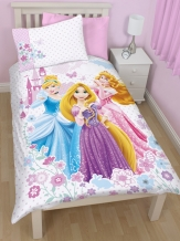 Disney Princess DREAMS Eenpersoons Dekbedovertrek prinses