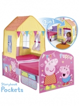 Peppa Pig Houten Kinderbed/Peuterbed incl lades