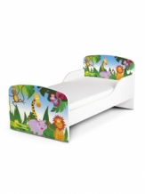 Houten Junior bed, Peuterbed | JUNGLE DIEREN