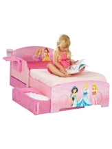 Disney Princess Bed | Houten Kinderbed/ inclusief lades